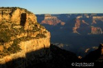 The Grand Canyon from the Bright Angel Trail.