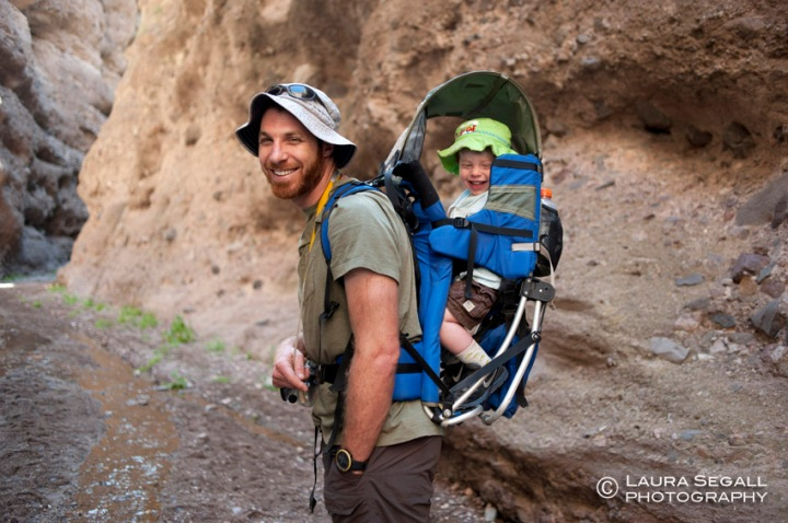 David and Wyatt explore Deer Creek Canyon, a side canyon of Aravaipa.