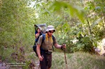 David and Wyatt hike through Aravaipa.