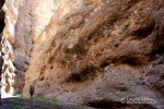 Exploring the narrows of Deer Creek, a side canyon of Aravaipa Canyon.