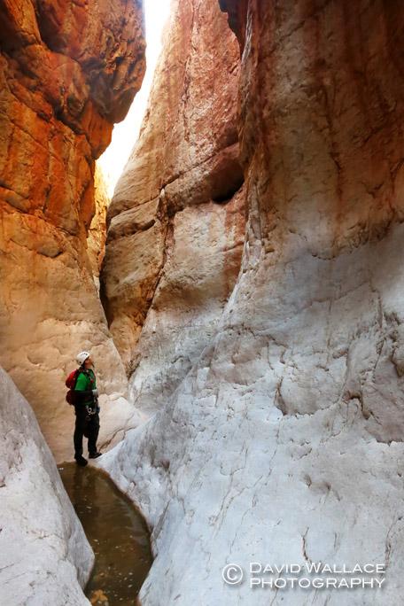 Mark takes in Panameta Canyon.