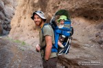 David and Wyatt explore Deer Creek Canyon, a side canyon of Aravaipa Canyon.