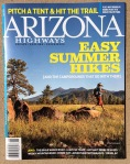 The cover of the June 2014 of Arizona Highways. Inside we had three photos published.