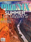 The June 2014 issue of Phoenix Magazine. Inside David had a photo published.