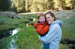 Laura and Wyatt in Willow Springs Canyon.