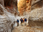 Eric, Mark and Brian hike through the magnificent Redwall narrows of Tuckup.